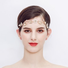 Stylish Alloy/Imitation Pearls Headbands
