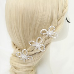 Beautiful Alloy/Imitation Pearls Hairpins
