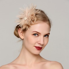 Dames Style Classique Feather avec Feather Chapeaux de type fascinator/Chapeaux Tea Party