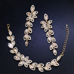 Shining Alloy With Rhinestone Imitation Crystal Women's Jewelry Sets (Set of 2) (137135784)
