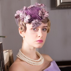 Ladies' Gorgeous Net Yarn Fascinators