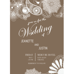 Laced Elegance Wedding Cards