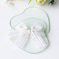 Heart Glass Coaster Wedding Present