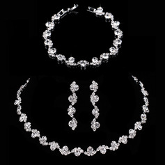 Ladies' Exquisite Alloy/Rhinestones Jewelry Sets