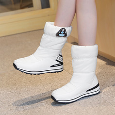 Women's Fabric Low Heel Snow Boots shoes