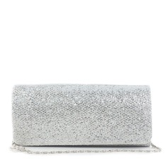 Shining Silk With Sequin Clutches (012016324)