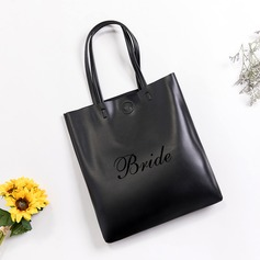 Bride Gifts - Personalized Attractive Special Imitation Leather Tote Bag