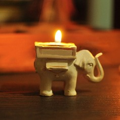 """Lucky Elephant"" Tea Light Holder"