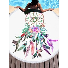 Dreamcatcher Oversized/round Beach towel (204165332)