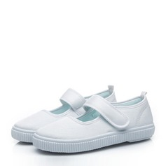 Unisex Closed Toe Canvas Canvas Flat Heel Flats Sneakers & Athletic With Velcro