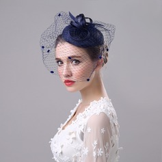 Damer' Klassisk stil Fascinators/Tea Party Hattar