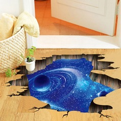 Ceiling Floor Decor 3D Galaxy Planet Wall Stickers (Sold in a single piece)