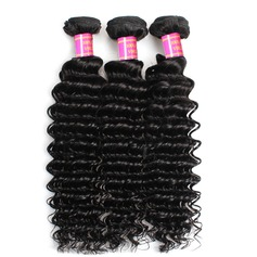 3A Deep Human Hair Human Hair Weave (Sold in a single piece)