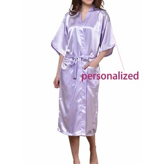 Personalized Polyester Bridal Robe (20 letters or less)  (041120653)