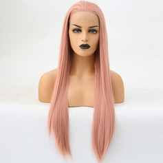 Straight Synthetic Hair Lace Front Wigs 340g