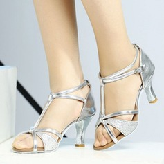 Women's Sandals Latin With T-Strap Dance Shoes