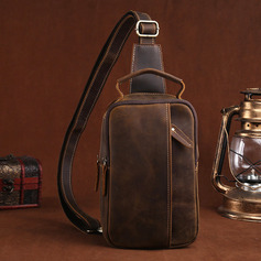 Groom Gifts - Vintage Leather Chest Pack