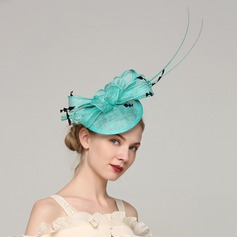 Ladies' Unique Cambric/Feather With Feather Fascinators/Kentucky Derby Hats