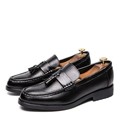 Men's Leatherette Tassel Loafer Casual Men's Loafers (260208007)