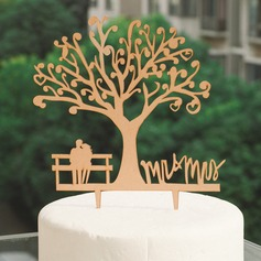 Wood Cake Topper (119074530)