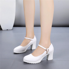 Women's Leatherette Sandals Character Shoes Dance Shoes