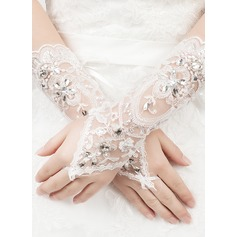 Tulle/Lace Bridal Gloves (014061756)