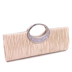 Elegant Satin Clutches/Wristlets