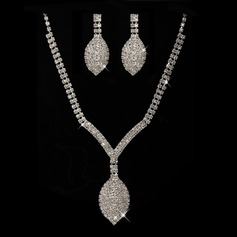 Fancy Alloy/Rhinestones Jewelry Sets