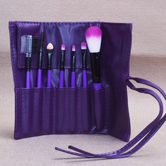 Artificial Fibre Fashion 7Pcs PU Pouch Makeup Supply