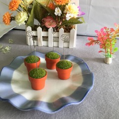 Flora Design Resin Place Card Holders