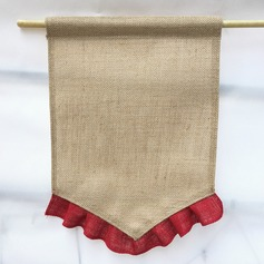 Simple Linen Photo Booth Props/Banner