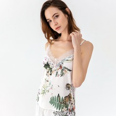 Polyester Fancy Bridal/Feminine Sleepwear Sets