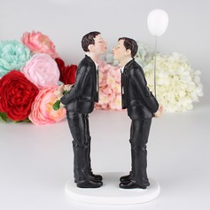 Same Sex Resin Cake Topper