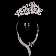 Fashional Alloy/Rhinestones Ladies' Jewelry Sets