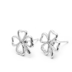 Clover Design Alloy Ladies' Earrings