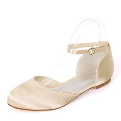 Kids' Silk Like Satin Flat Heel Closed Toe With Others
