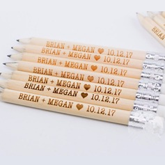 Personalized Save The Date Wooden Pencil