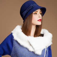 Ladies' Charming Autumn/Winter Wool With Bowler/Cloche Hat (196075458)