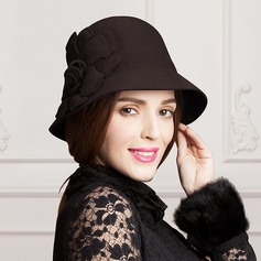 Ladies' Classic Wool Bowler/Cloche Hat