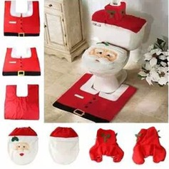 Cartoon Style   Christmas Decorations Bathroom Toilet Seat Cover