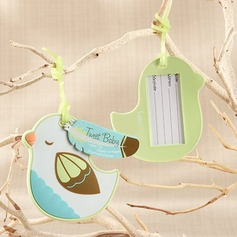 Bird Design Plastic Luggage Tags
