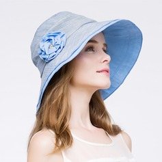 Ladies' Simple Spring/Autumn Papyrus With Bowler/Cloche Hat