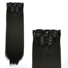 Straight Synthetic Hair Clip in Hair Extensions 6PCS 130g