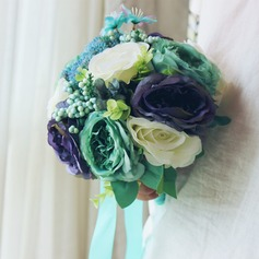 Dreamlike Free-Form Satin/Artificial Silk Bridal Bouquets -