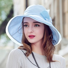 Ladies' Gorgeous/Glamourous Polyester With Bowknot Bowler/Cloche Hat