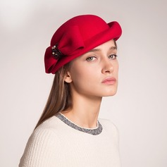 Exquisite Wool With Bowknot Beret Hat