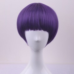 Straight Synthetic Hair Capless Wigs 160g
