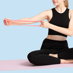 Multifunctional Yoga Stretchable Sports Emulsion Resistance Band (Set of 5)