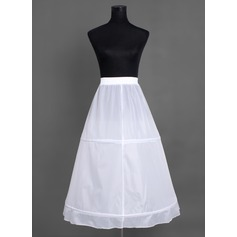 Women Nylon Tea-length 1 Tiers Petticoats (037004071)