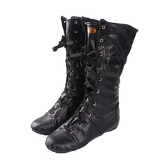 Women's Leatherette Boots Jazz Dance Boots Dance Shoes